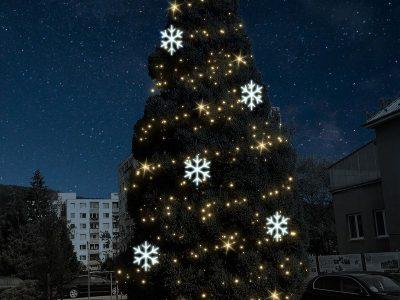 strom-vločky+ ozdoba