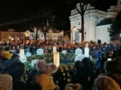 AV Topoľčany 2019 - rozsvietenie